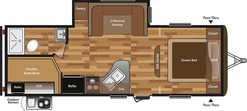 24BHSWE Floorplan