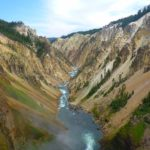 One of the best views in Yellowstone